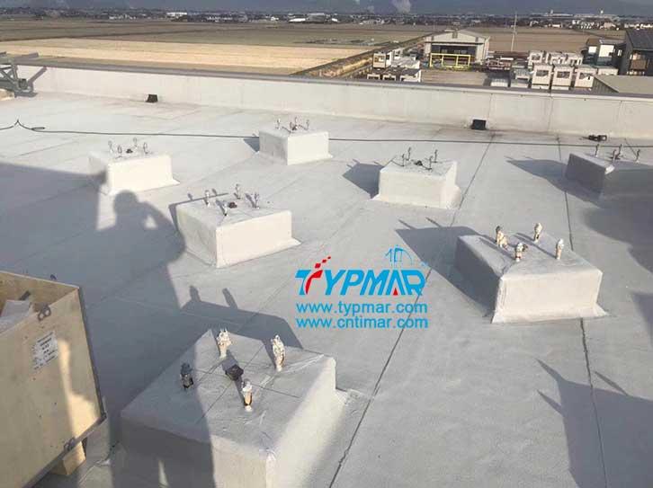 日本屋顶磁悬浮风力发电机组基础地基