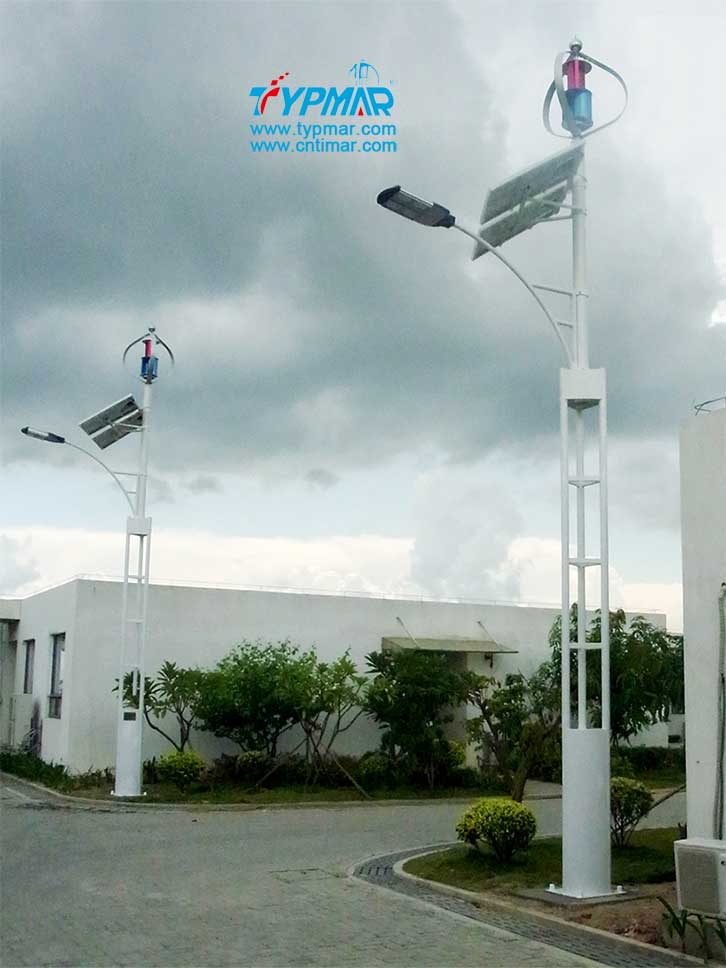 深圳新宝安机场试点工程 风力发电机