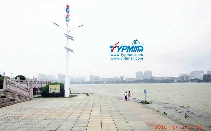 惠州景区江边工程 风力发电机组