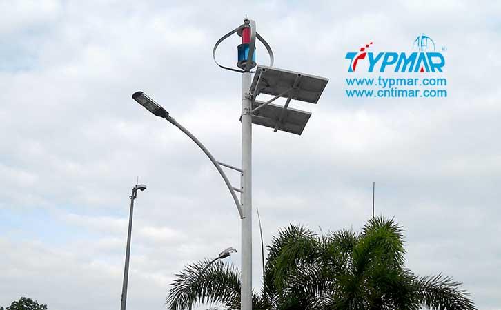 马来西亚风光互补路灯工程