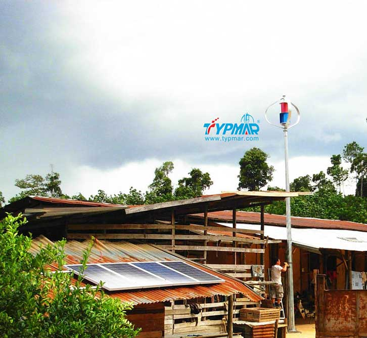 马来西亚居民风光互补系统 家庭供电系统